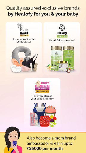 Indian Pregnancy, Parenting & Baby Products App android2mod screenshots 4
