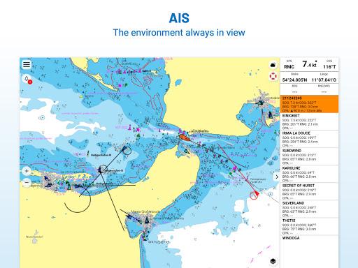 NV Charts GPS Navigation AIS android2mod screenshots 19