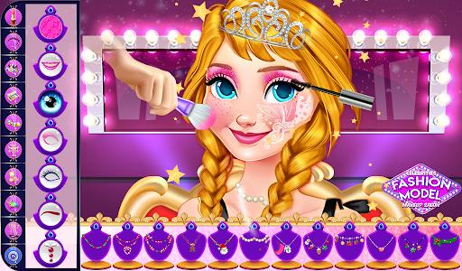 super stylist dress up: New Makeup games for girls Apkfinish screenshots 8