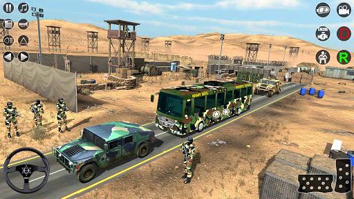Army Bus Transporter Simulator 2020  screenshots 1