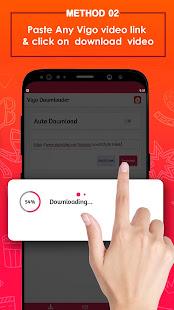 Video Downloader For Vigo - No Watermark