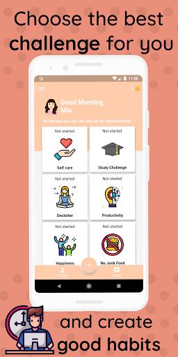 21 Days Challenge - Life Changing Habits apktram screenshots 2