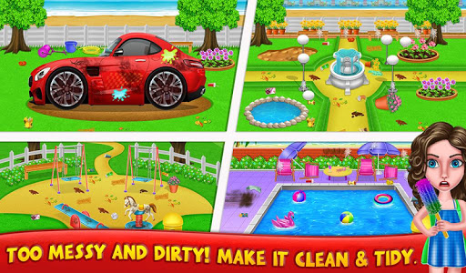 House Cleanup : Girl Home Cleaning Games 3.9.1 screenshots 7
