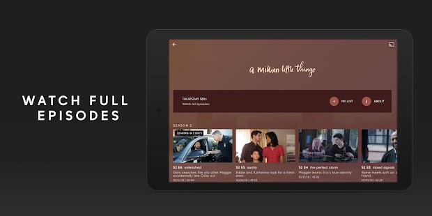 ABC – Live TV & Full Episodes Capture d'écran