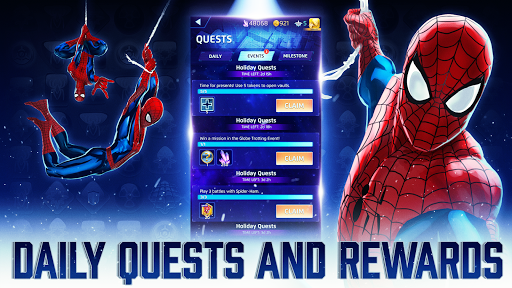 MARVEL Puzzle Quest: Join the Super Hero Battle! 230.575222 Screenshots 4