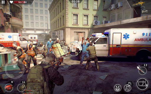 Left to Survive: Dead Zombie Survival PvP Shooter screenshots 8