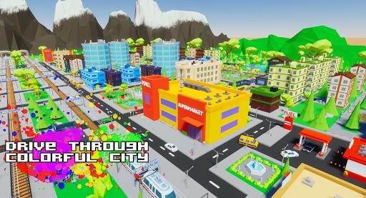 Gangster && Mafia Block City Dude Theft Pixel Car