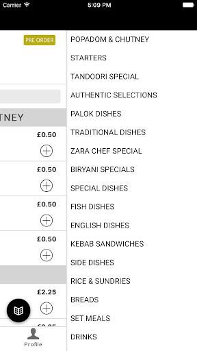Zara Indian Takeaway 1.1 screenshots 2