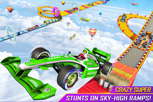 Formula Car Stunt Games: Mega Ramp Car Games 3d 1.6 screenshots 1