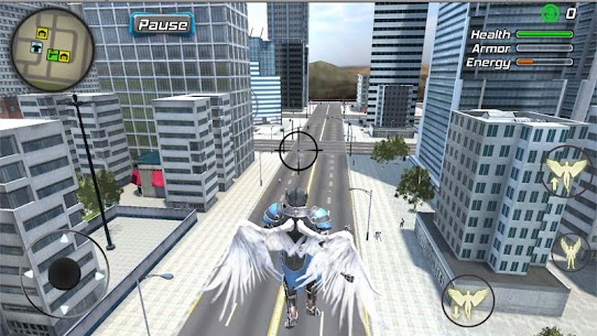 Crime Angel Superhero Mod Apk- Vegas Air Strike (Unlimited Energy) 9