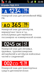 Штрафы ПДД 2016