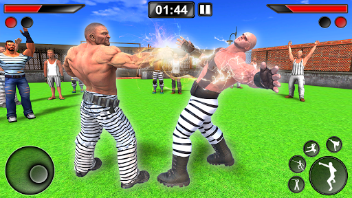 grand prison ring battle - karate fighting games screenshot 2