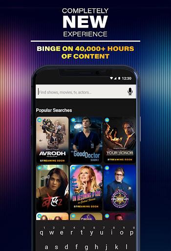 SonyLIV: Originals, Hollywood, LIVE Sport, TV Show screenshots 2