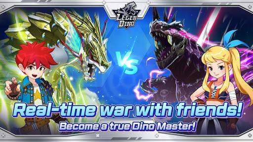 Legendino: Dinosaur Battle Varies with device screenshots 2