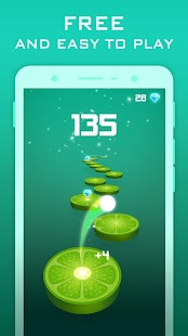 Splashy Tiles: Bouncing To The Fruit Tiles Screenshot