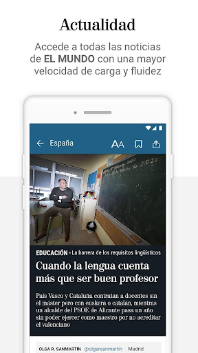 El Mundo - Diario lu00edder online 5.0.24 Screenshots 2