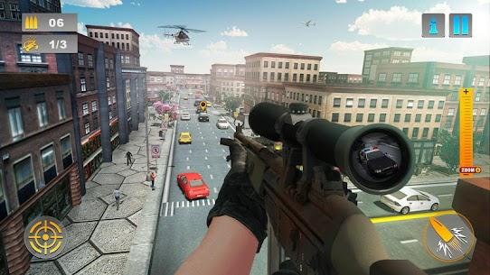 City Traffic Sniper Shooter 2