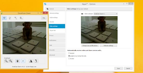 DroidCamX Webcam Pro 3