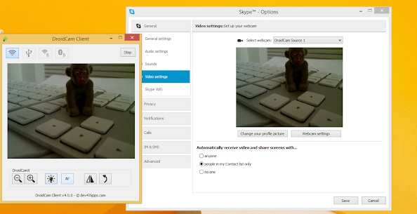 DroidCamX Wireless Webcam Pro APK Full Patched 3