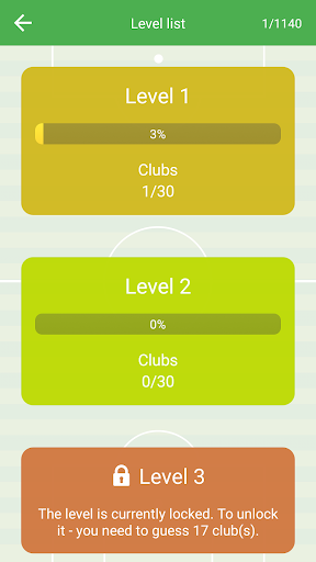 Soccer Club Logo Quiz: more than 1000 teams 1.82 screenshots 5
