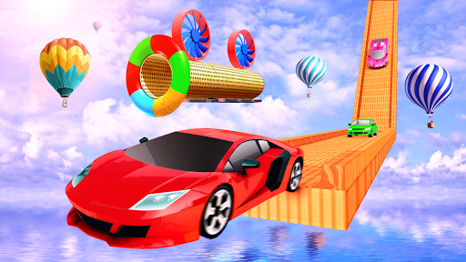 impossible track car driving games: ramp car stunt screenshot 1