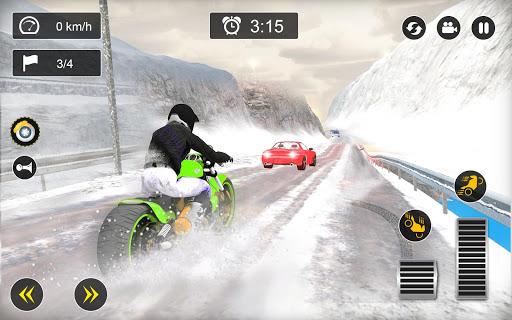 Snow Mountain Bike Racing 2019 - Motocross Race 2.0 screenshots 5