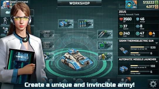 Art of War 3: PvP RTS modern warfare strategy game 1.0.87 Apk + Mod 4