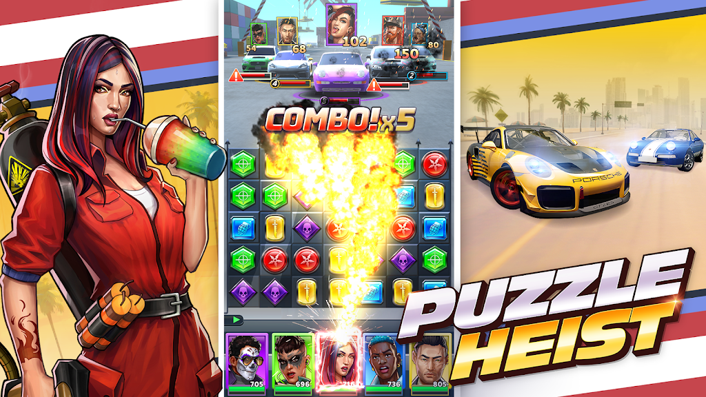 Puzzle Heist: Epic Action RPG poster 6