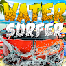 Water stunt car surfer 3D game apk icon