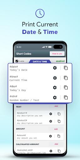 Bluetooth Print - USB / Bluetooth Thermal Printer android2mod screenshots 3