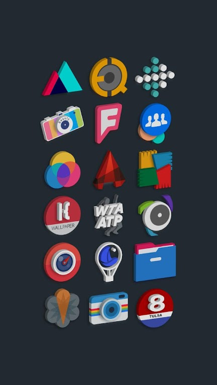 Tigad Pro Icon Pack  poster 11