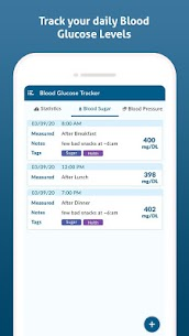Diabetes Diary Pro Apk- Blood Glucose Tracker (Pro Features Unlocked) 3