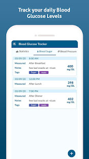Diabetes Diary - Blood Glucose Tracker