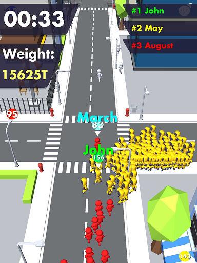 Crowd Buffet - Fun Arcade .io Eating Battle Royale android2mod screenshots 5