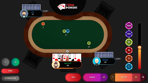 Türk Pokeri 1.4 screenshots 1