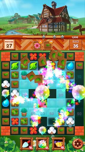 Garden Dream Life: Flower Match 3 Puzzle apklade screenshots 2
