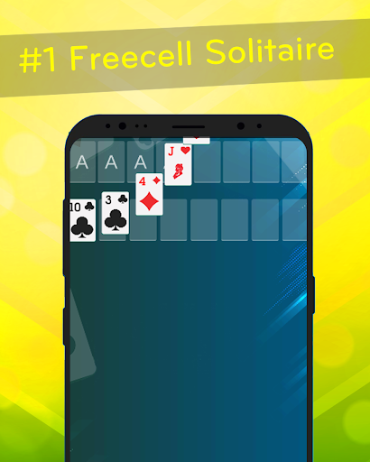 FreeCell – Classic Solitaire Screenshot 2