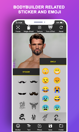 Body Builder Photo Suit (Six pack abs editor) android2mod screenshots 6