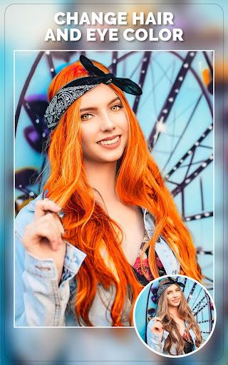 Change Hair And Eye Color apktram screenshots 6