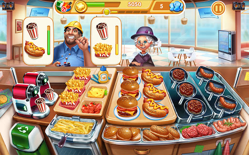 Cooking City: frenzy chef restaurant cooking games  screenshots 16