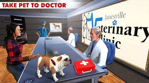 Télécharger Pet Hospital Simulator 2020 - Jeux de Pet Doctor APK MOD (Astuce) screenshots 1