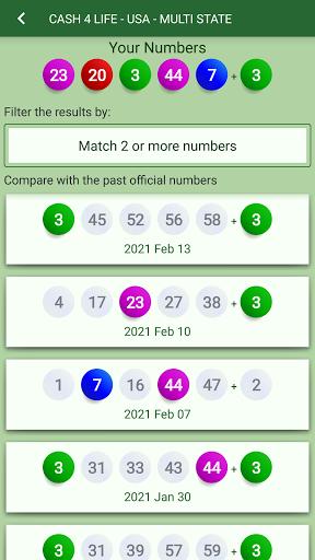 Lottery Generator & Statistics  Screenshots 3