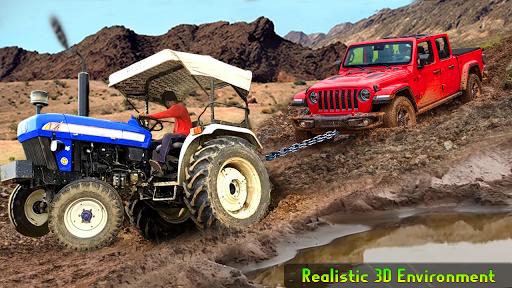 Heavy Tractor Pulling & Farming Drive Simulator screenshots 1