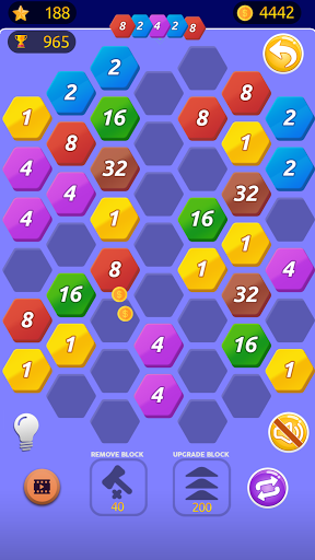 Number Merge 2048 - 2048 hexa puzzle Number Games 7.9.15 screenshots 2