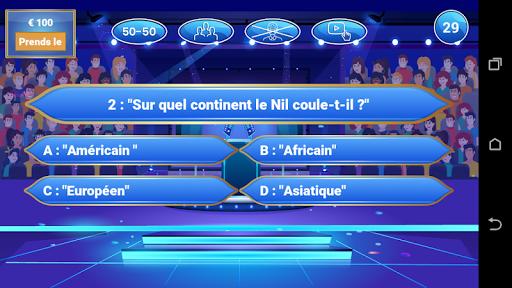 Millionaire Quiz 2020 - Qui veut des millions 1.0.4 Screenshots 2