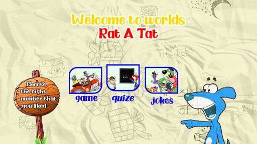 Code Triche Rat A Tat Cartoon And Moto Driving mod apk screenshots 2