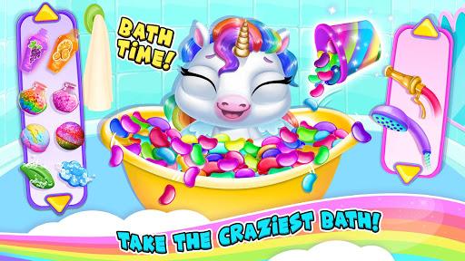 My Baby Unicorn 2 - New Virtual Pony Pet android2mod screenshots 6