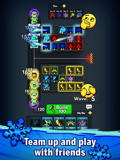 Merge Clash: TD Tower Defense Games  screenshots 16