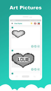 Chat Styles: Cool Font & Stylish Text for WhatsApp 8.3 APK screenshots 8