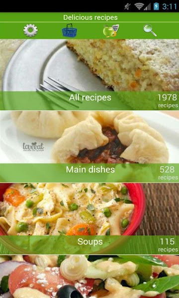Delicious recipes